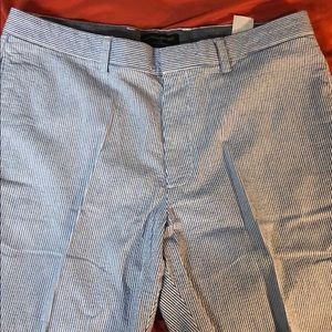 Banana republic sear sucker chino shorts